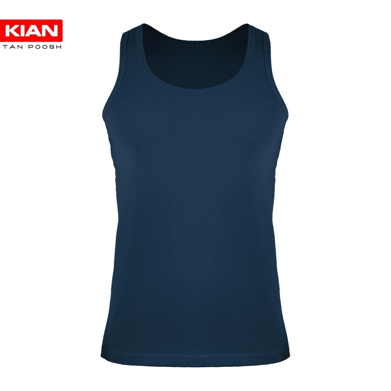 لباس زیر رکابی مردانه آبی نفتی
