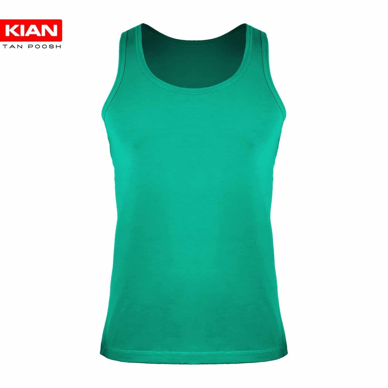 زیرپوش رکابی مردانه سبز روشن
