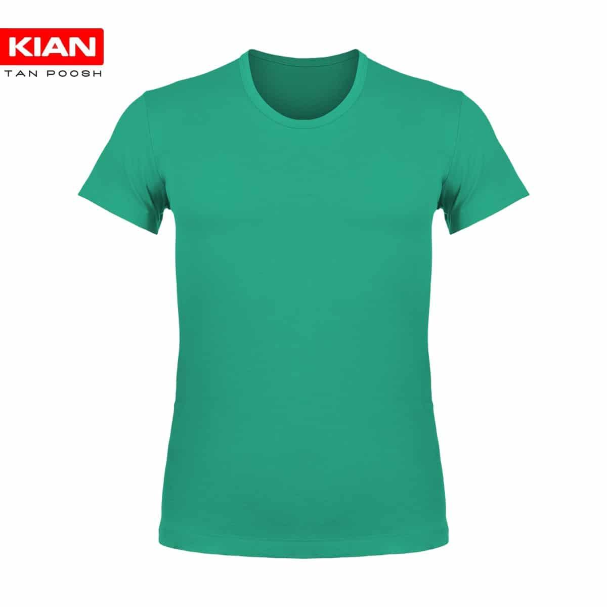 زیرپوش نیم آستین مردانه سبز روشن