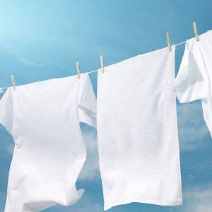 لکه بری لباس زیر سفید