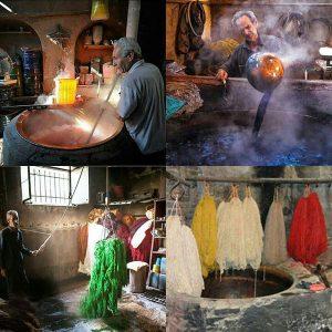 تاریخچه رنگرزی در ایران و جهان
