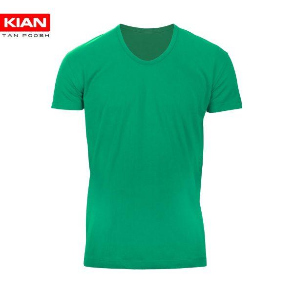 زیرپوش نیم آستین کلاسیک نوجوان پنبه سبز بنتون
