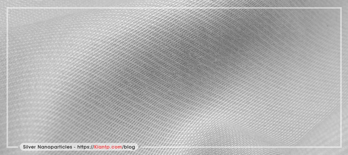 پارچه نانو ذرات نقره