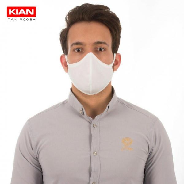 ماسک تنفسی قابل شستشوی دو لایه (پک 3 عددی)