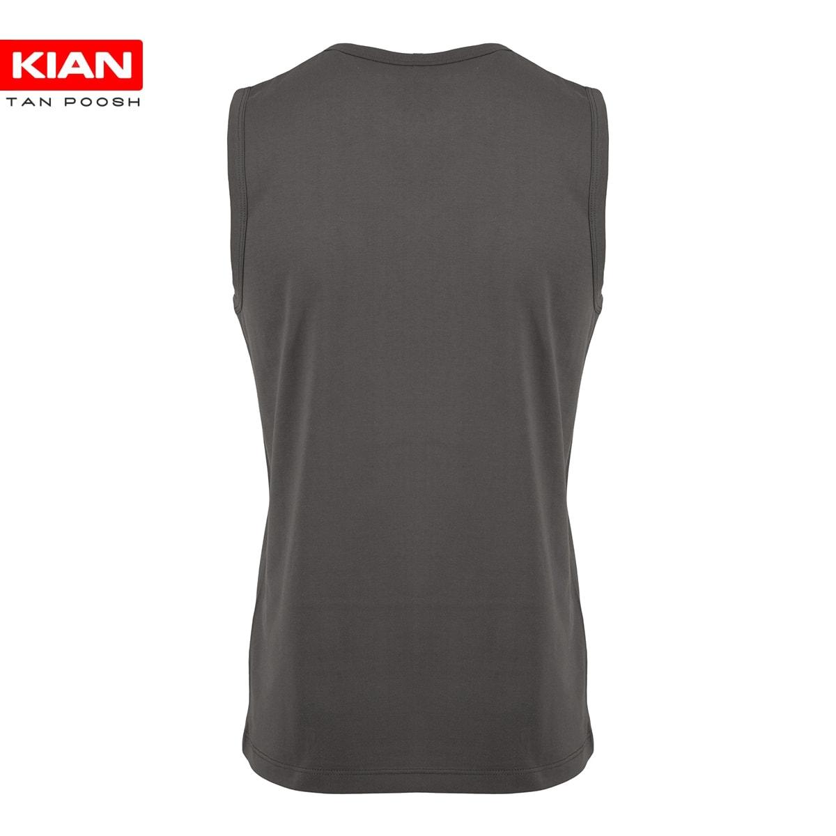 زیرپوش آستین حلقه مردانه پنبه رنگ بندی 3 (پک شش عددی)