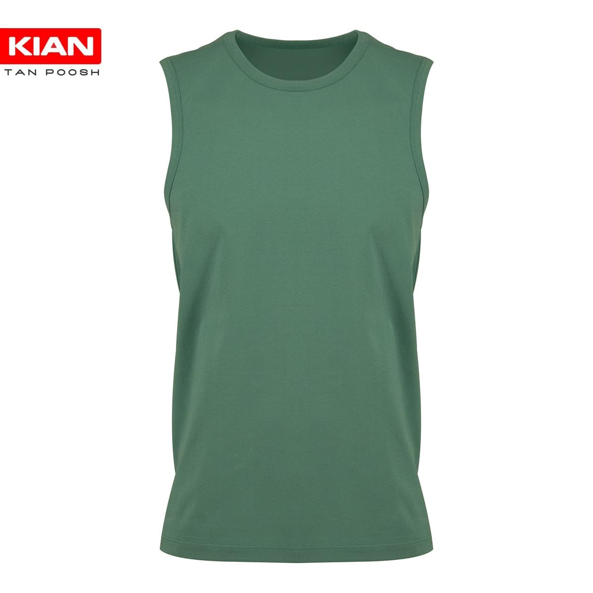 زیرپوش آستین حلقه مردانه سبز